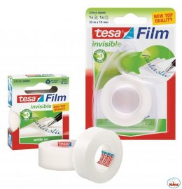Taśma biurowa TESAfilm INVISIBLE 19x33m+Dyspenser Easy Cut 57414-00005