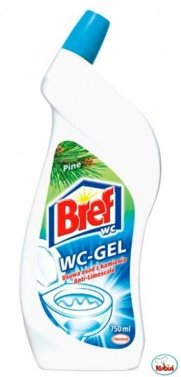 Płyn żel do WC BREF Ffresh 700ml *11617