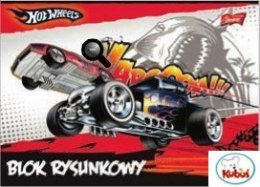 Blok rys.A4 20k HOT WHEELS MATTEL *6852@S0