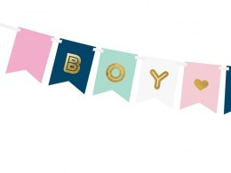 """Baner Boy or Girl, mix, 15 x 175 cm"""